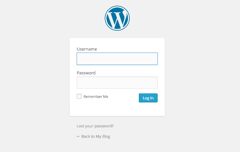 inloggen wordpress